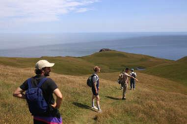 Hiking on Magdalen