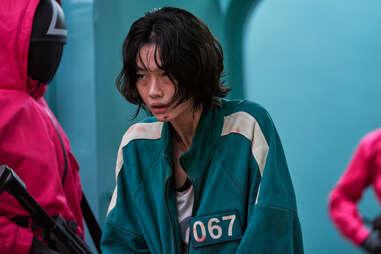 squid game, kang san-byeok pickpocket contestant 067