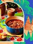 Aaron Sanchez and birria stew