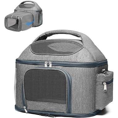 X-Cosrack Expandable Pet Travel Bag