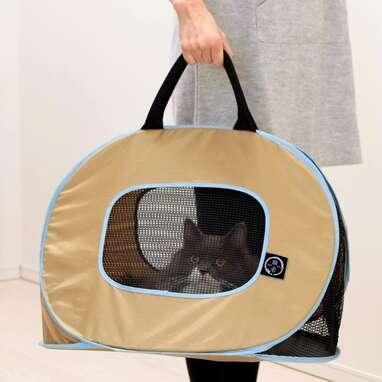 NECOICHI Stress Free Series Cat Carrier