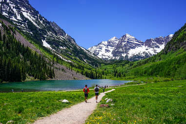 maroon bells hike