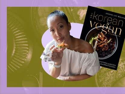 the korean vegan cookbook debut author joanne molinaro