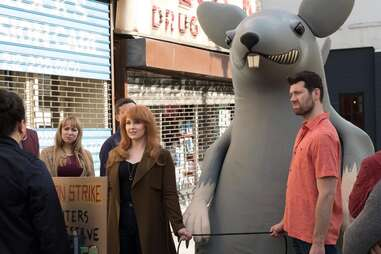 difficult people, protest rat
