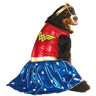 Rubie's DC Comics Wonder Woman Pet Costume