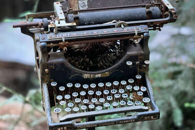 Typewriter at the Henry Miller Library