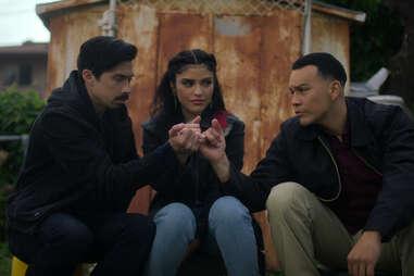 Carlos Santos in gentefied season 2, Karrie Martin in gentefied season 2
