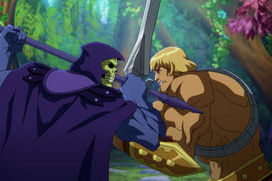 masters of the universe revelation skeletor he-man
