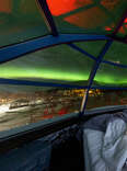 northern lights igloo cabin