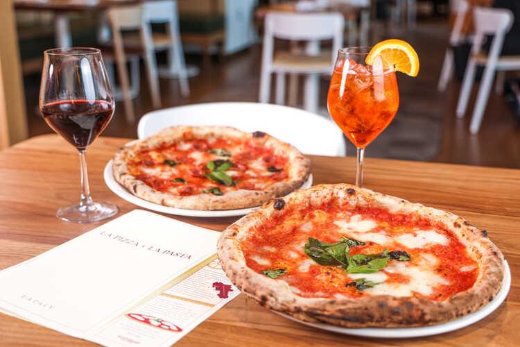 La Pizza & La Pasta at Eataly Dallas