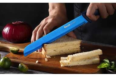 Wanbasion Blue Serrated Bread Knife