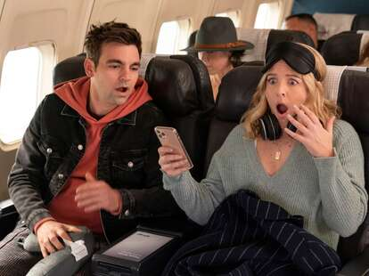 drew tarver in the other two season 2 episode 9, drew tarver and helene yorke in the other two