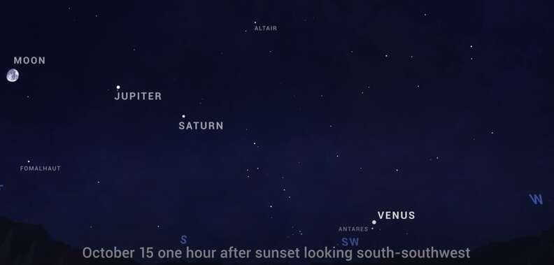 october stargazing events