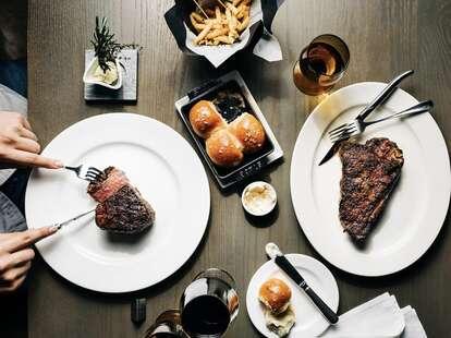Mooo Beacon Hill steak