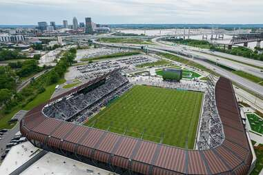 Racing Louisville FC stadium