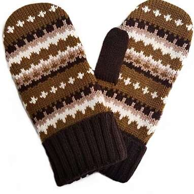 Bernie Sanders-Inspired Inauguration Day Knit Mittens