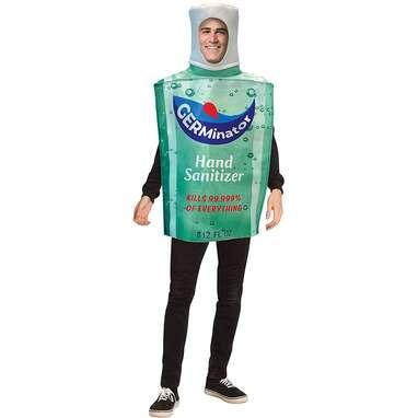 Hand Sanitizer Bottle Costume