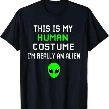 Weird Funny Alien T-Shirt