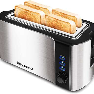 Elite Gourmet Maxi-Matic 4-Slice Long Toaster