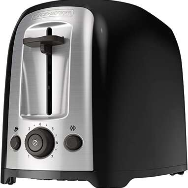 Black+Decker 2-Slice Extra Wide Slot Toaster