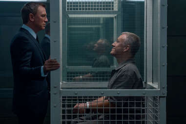 daniel craig and cristoph waltz in no time to die