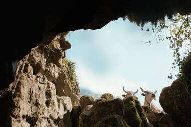 goats in il buco, il buco movie 2021