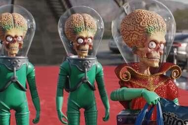 aliens in mars attacks!