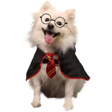Coomour Halloween Dog Costume Pet Wizard Shirt