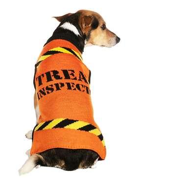 "Tipsy Elves® Halloween ""Treat Inspector"" Dog Sweater"