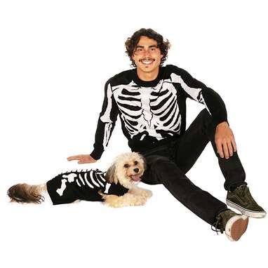 Tipsy Elves® Halloween Skeleton Sweater for Pups + People