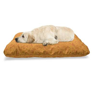 Ambesonne Halloween Pet Bed
