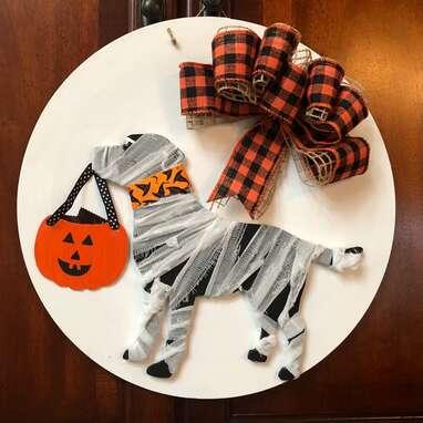 Halloween Lab Door Hanger