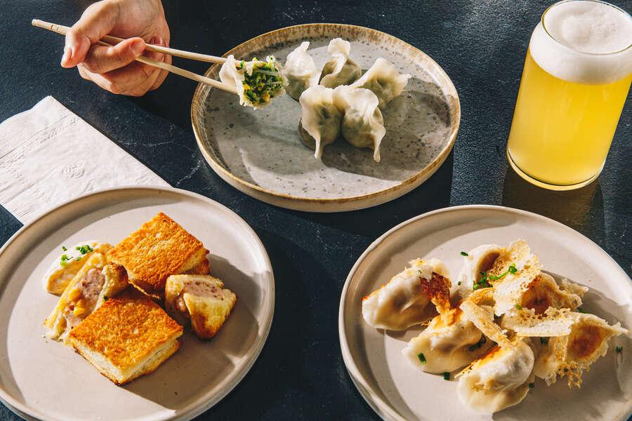 First Look: The Team Behind Hunan Slurp Explores Tsingtao Flavors at Dumpling Lab
