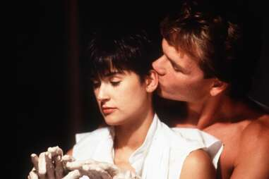 ghost pottery scene, demi moore and patrick swayze in ghost