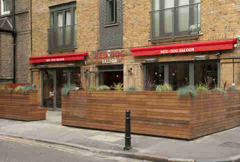 The Red Dog Saloon-London-Exterior