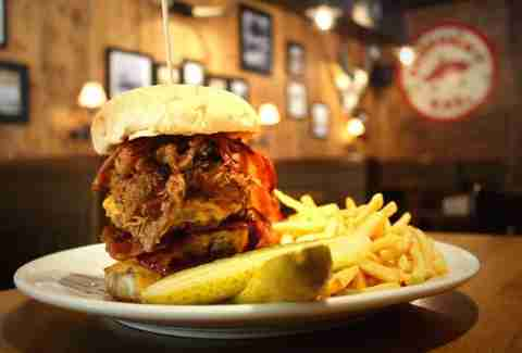 The Red Dog Saloon-London-Food