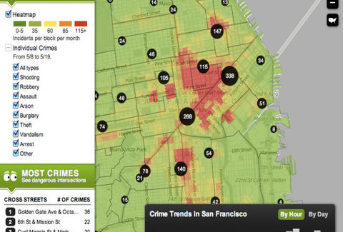 Trulia Crime Maps - Entertainment - Thrillist San Francisco
