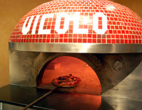 The oven at Vicolo