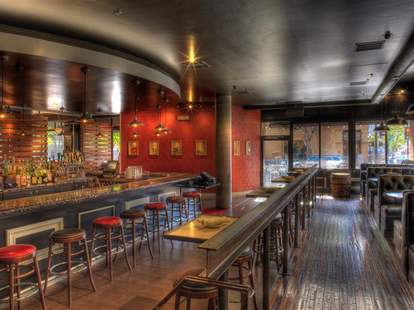 Interior of Quality Social in San Diego