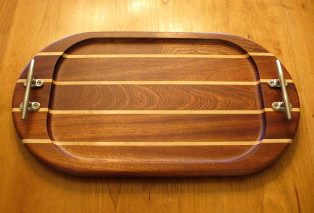 Upscale cutting boards handcrafted on the South Shore