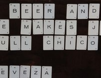 Cerveceria de MateVeza-San Francisco-Scrabble