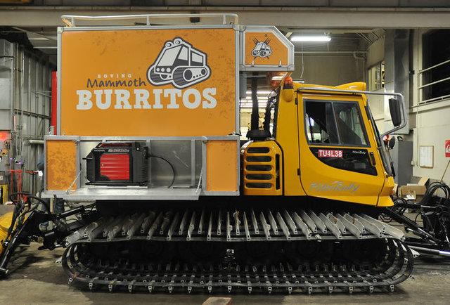 Food truck, meet snowmobile