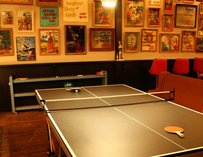 Ping-pong table at Sister Louisa's