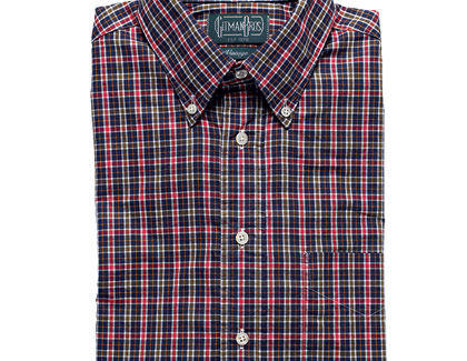 A men's dress shirt from Haberdash.