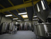 The brewing room