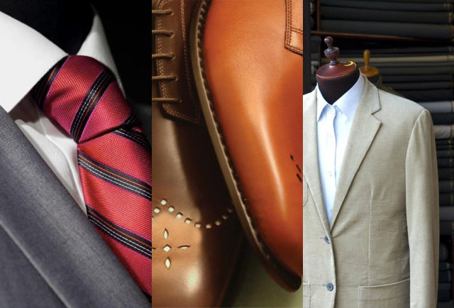 Suits and kangaroo shoes on the cheap