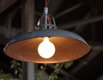 Steel & Rye Lamp--Boston
