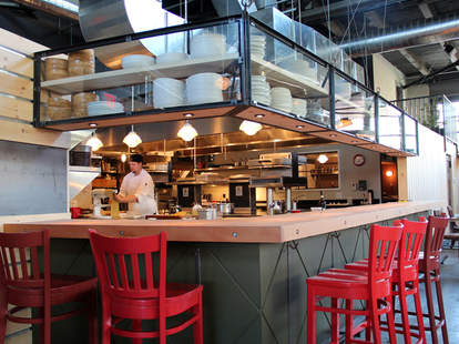 Steel & Rye Interior--Boston