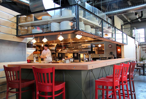 Steel & Rye Interior--Boston