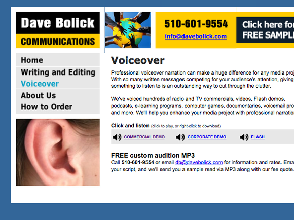 Dave Bolick Communications